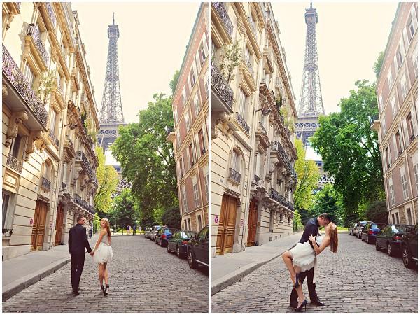 couples shoot paris