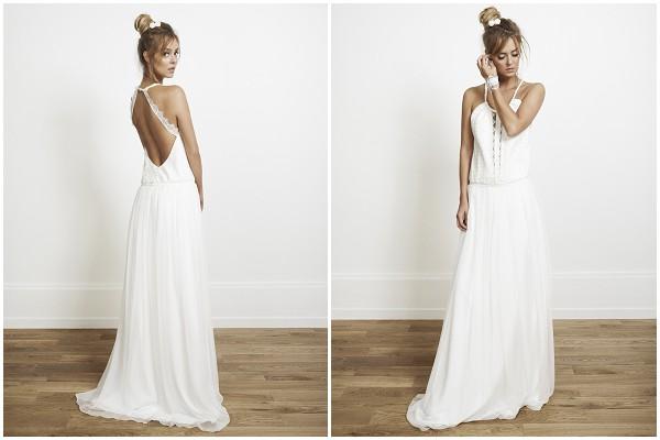 cross over back weddingdress