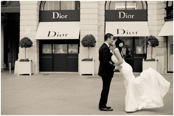 dior wedding