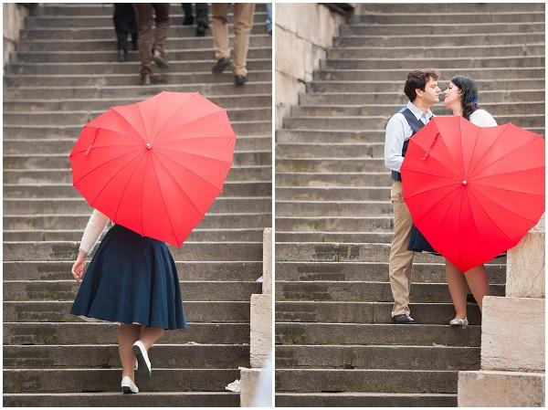 heart umbrella paris
