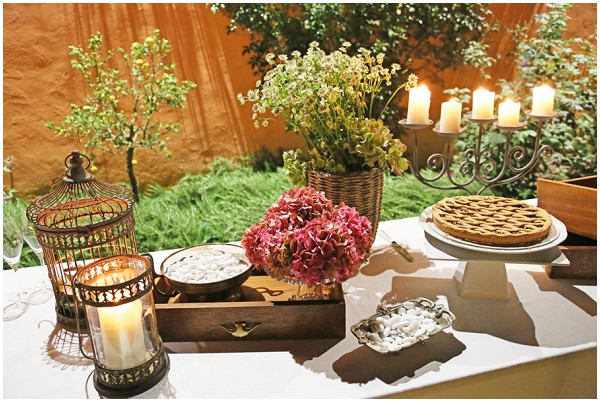 italian desser table