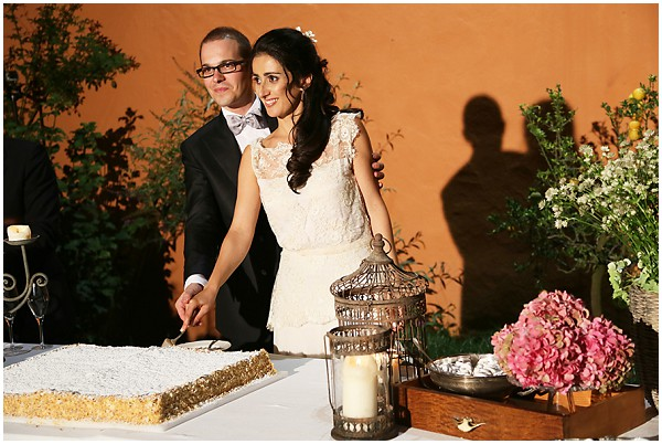 italian weddng cake