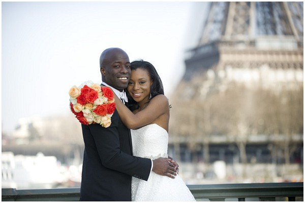 Jacquelyn and Livingston in Paris