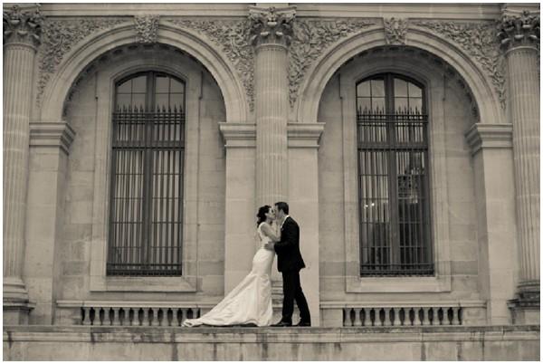 scenic wedding photos paris
