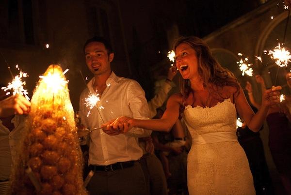Summer weddings-croquembouche