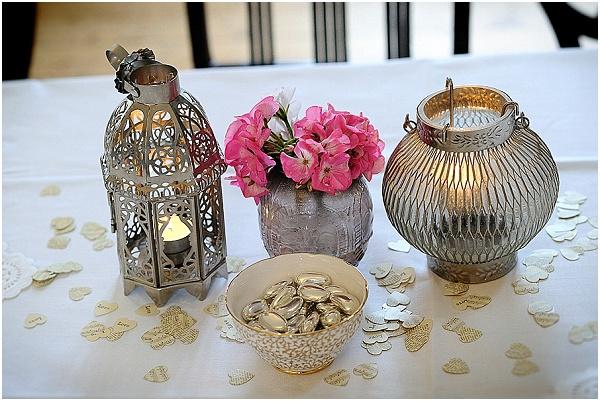 DIY wedding lanterns
