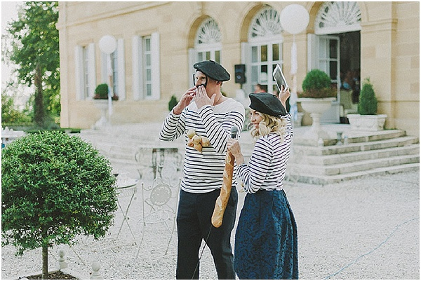 French wedding entertainment