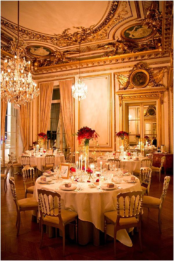 French hotel wedding