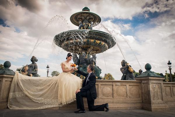 Paris photographer - 25th wedding anniversary in Paris