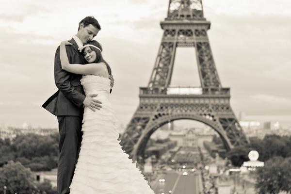 Paris photographer first picture Eiffel Tower Paris