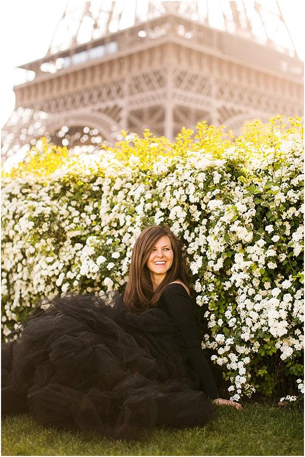 Springtime photo shoot in paris
