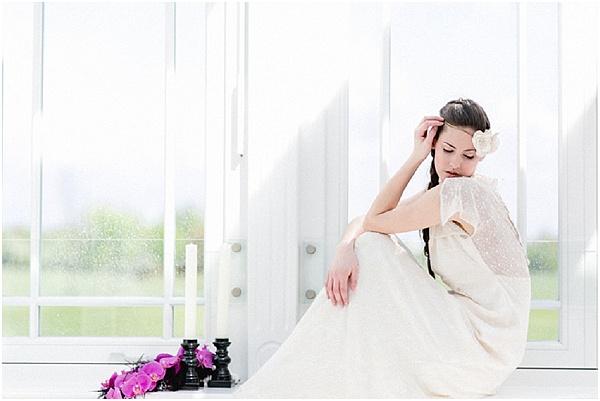 boho inspired bride