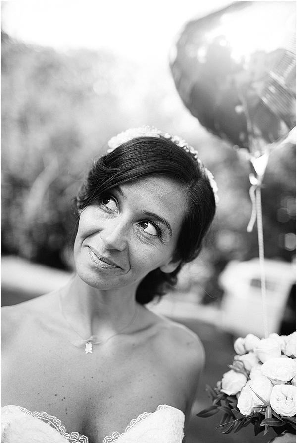 bride and Balloon
