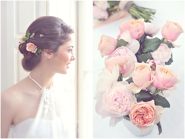 french wedding roses