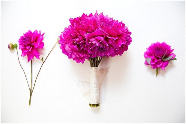 fuchsia bouquet