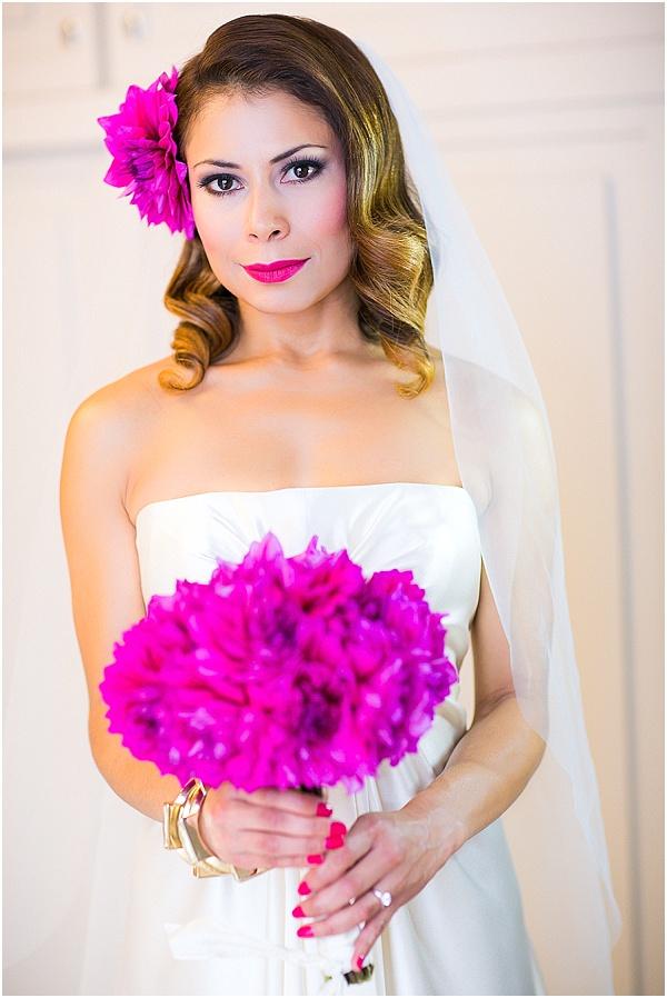 fucshia bride