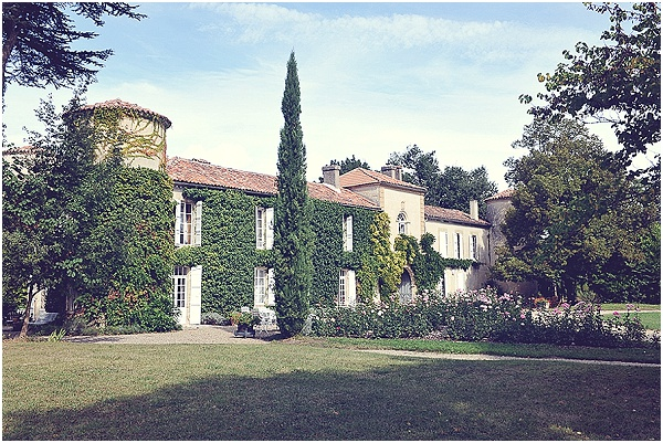 gascony wedding chateau