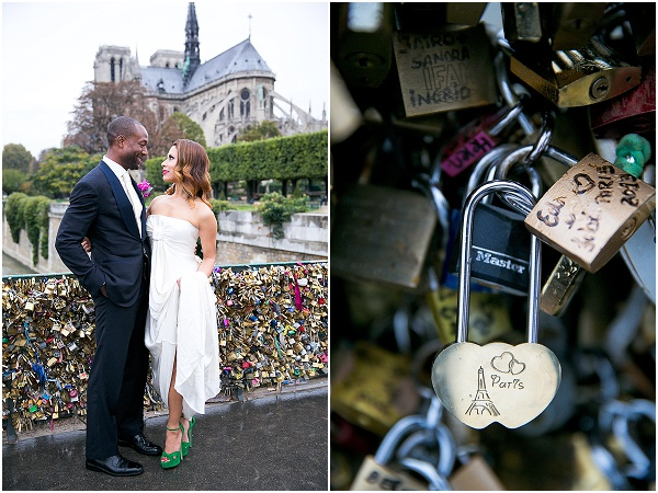 love locks bridge paris