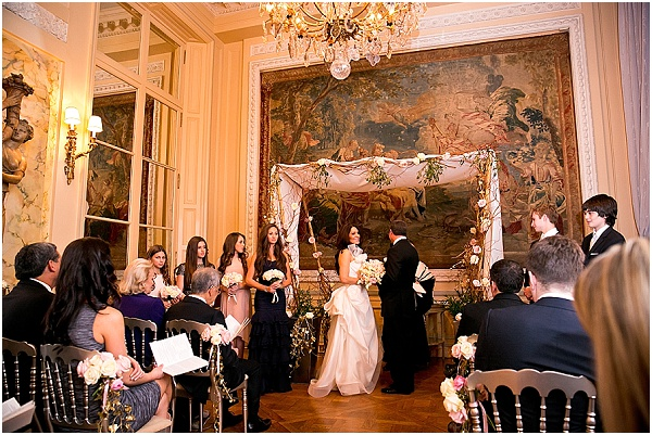 ornate wedding alter