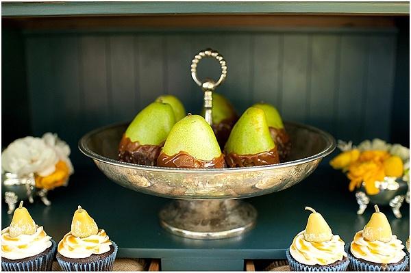 pears chocolate