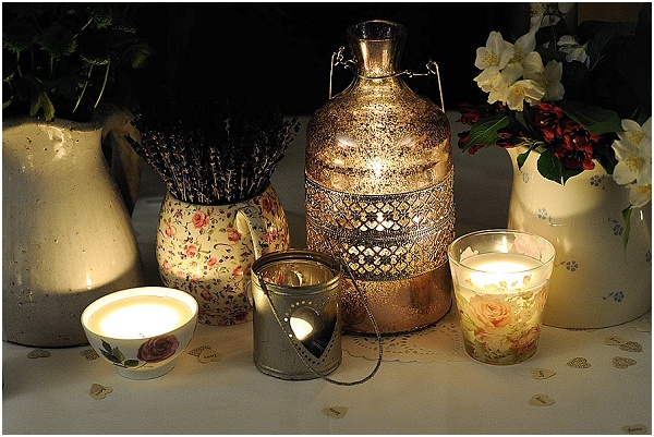 selection wedding lanterns