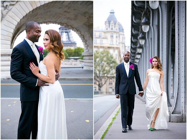 small wedding in paris