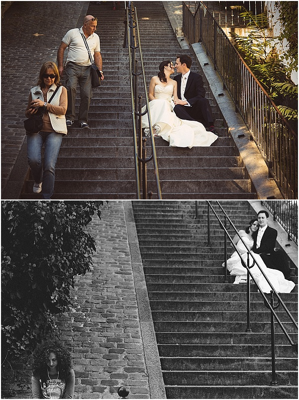 steps in paris