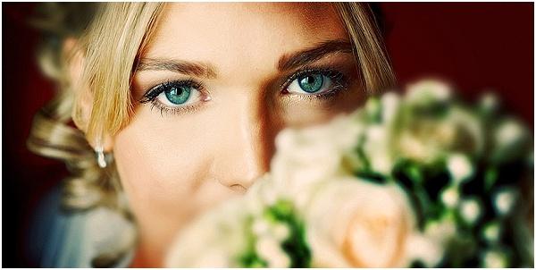 stunning green eyes