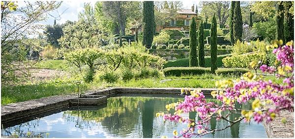 Domaine de la Baume Gardens