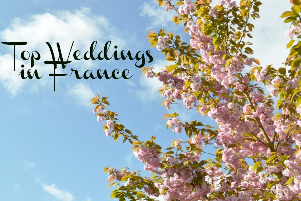 Top weddings in France