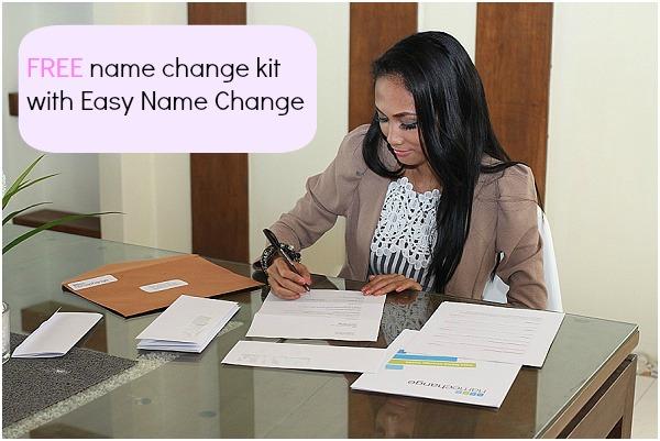 FREE name change kit