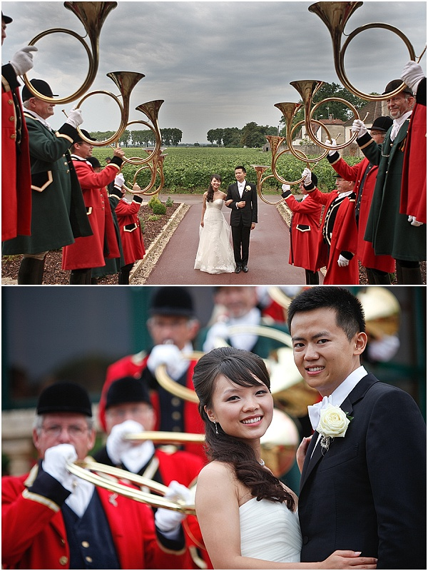 brass band wedding france