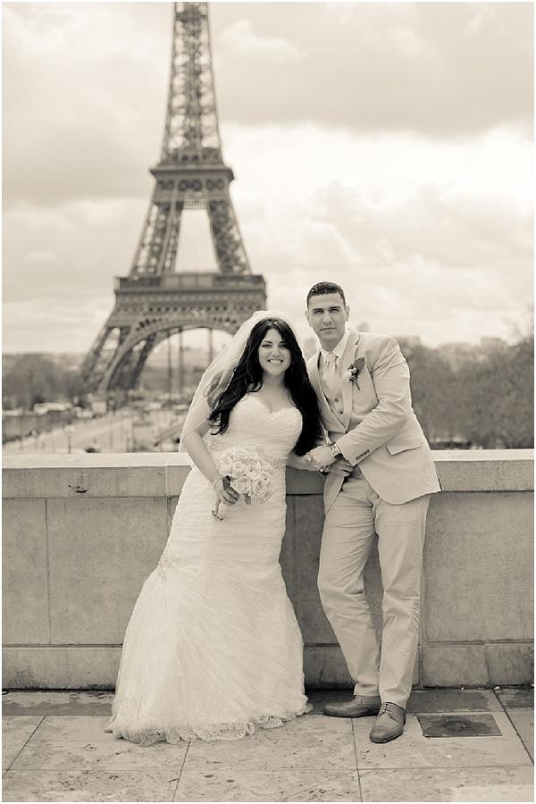elopement wedding in Paris
