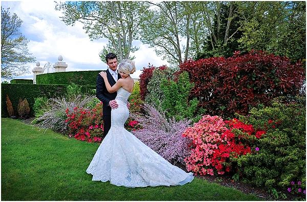 flower garden wedding