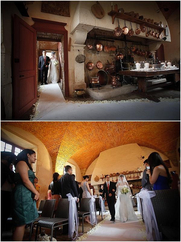 kitchen wedding