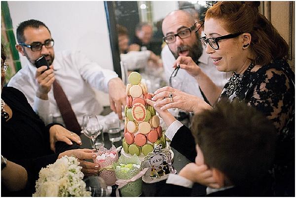 laduree wedding cake