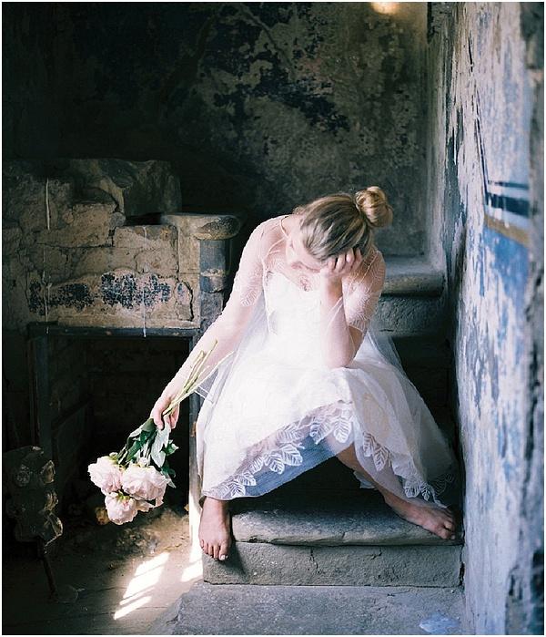 melancholy bride