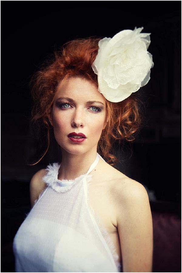 oversize bride headpiece