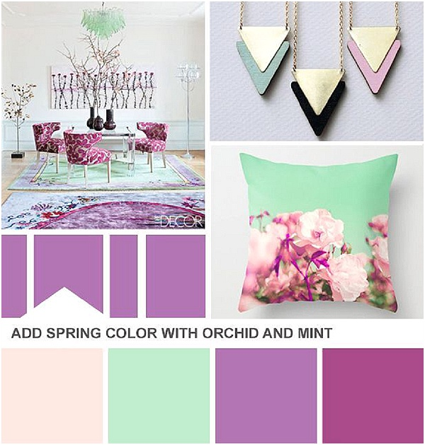 radiant orchid mint