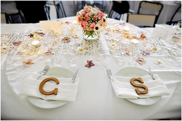 simple wedding table ideas