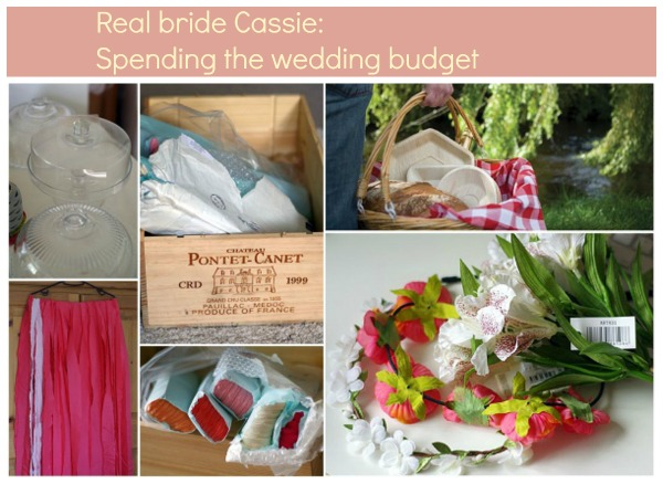 spending the wedding budget