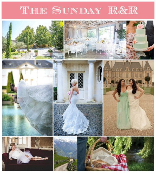 French Wedding Style - Sunday R&R