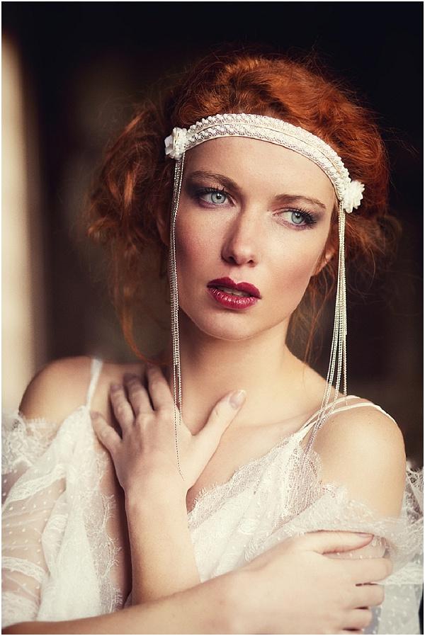 vintage bride makeup