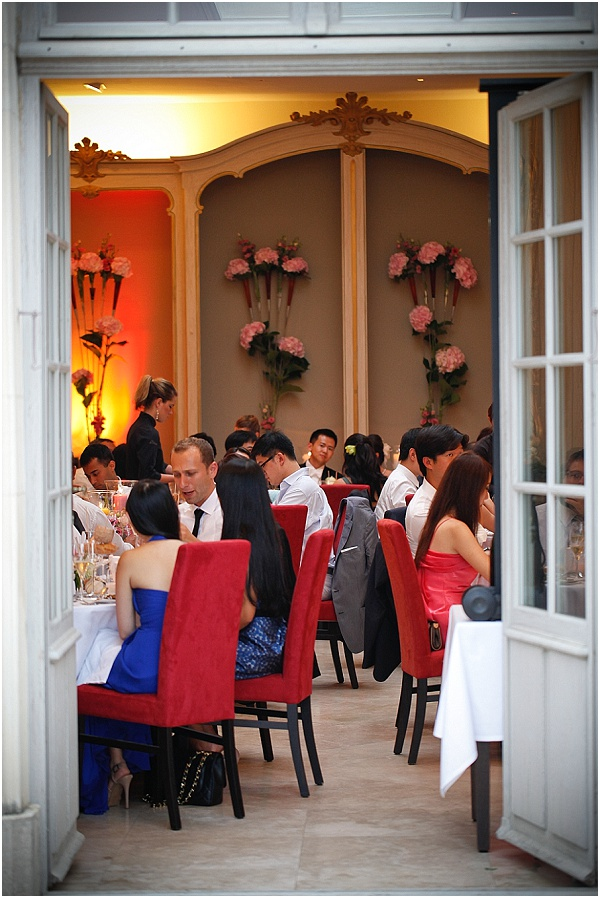 wedding in burgundy