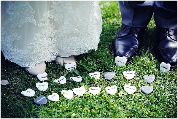 wedding stones