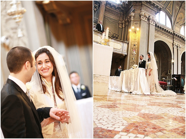 Church wedding italy