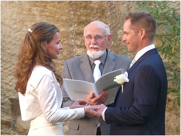 Exchange of Rings with Weddings, Words and Wishes