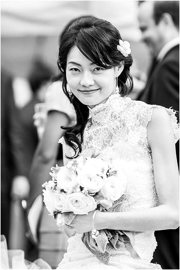 asian boho bride