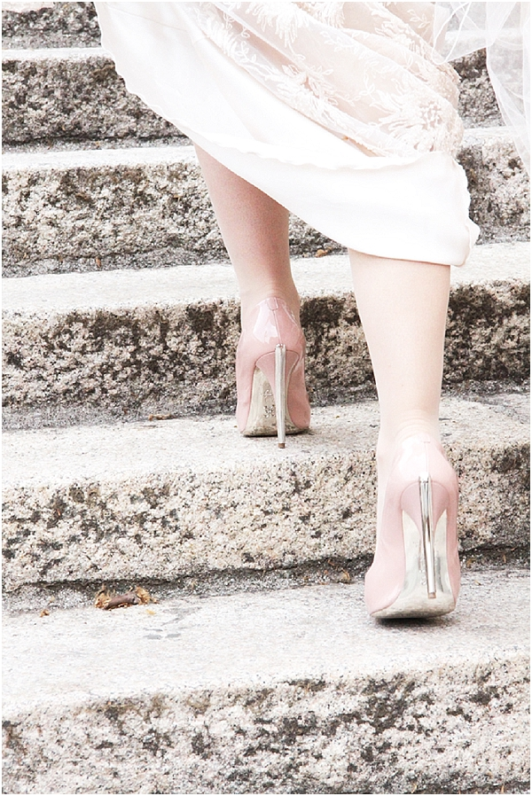 baby pink_bridal shoes