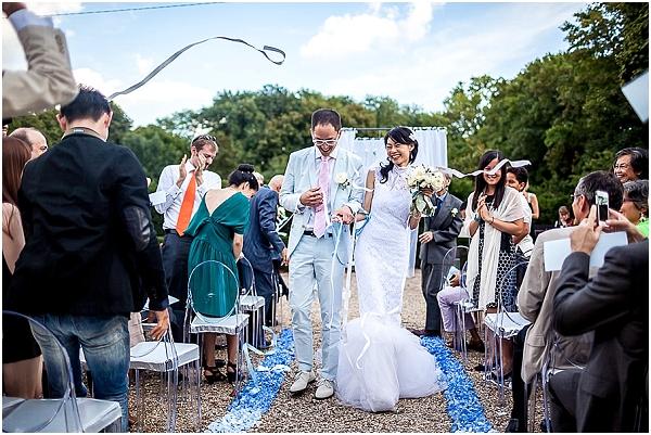 celebrating weddings